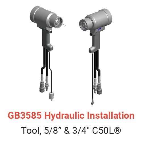 GB3585 Hydraulic Installation Tool